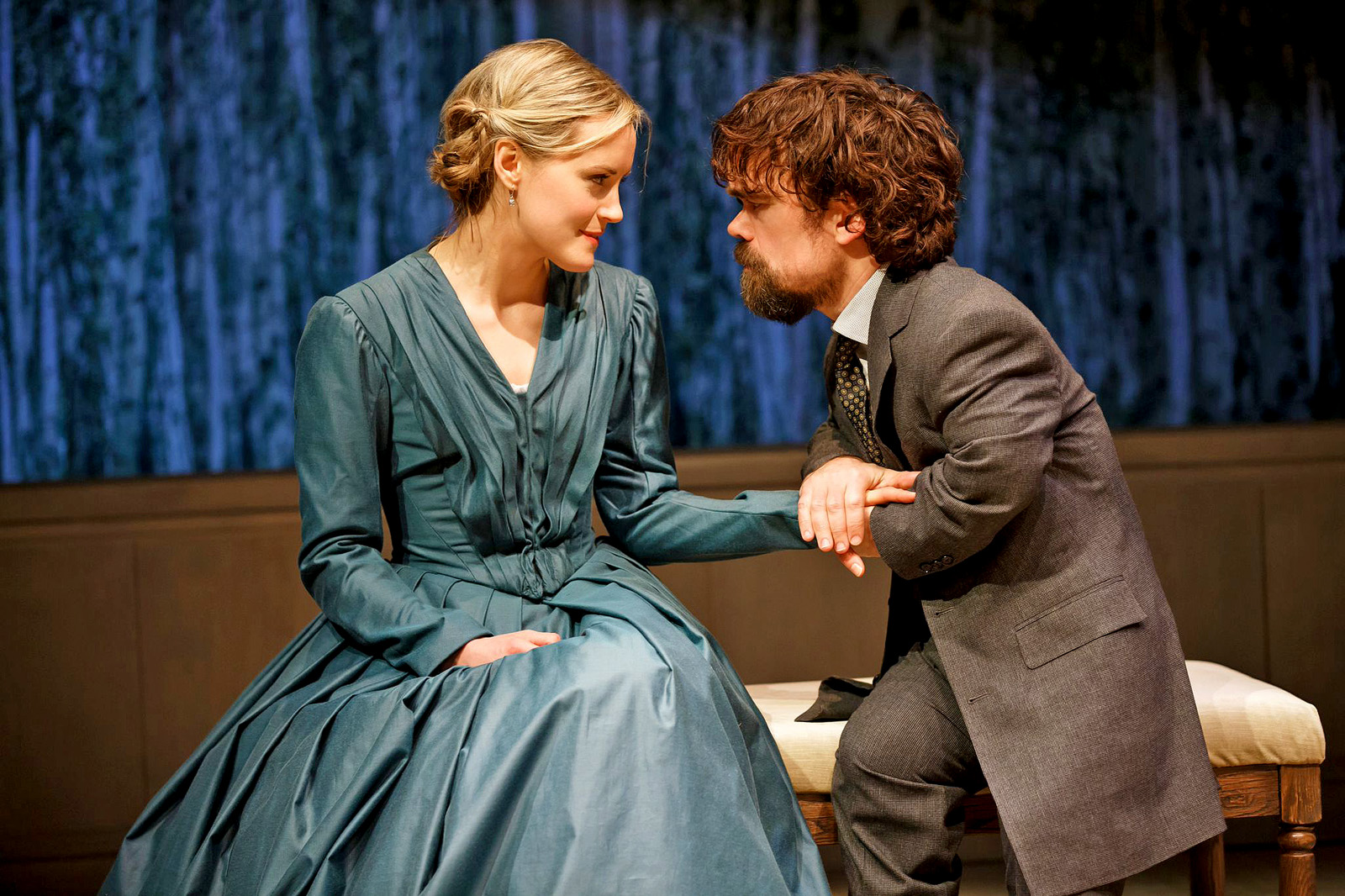 """""""A Month in the Country"""" Taylor Schilling and Peter Dinklage"""