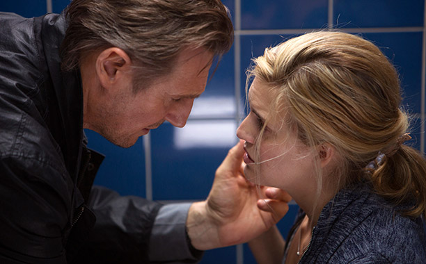 Liam Nesson and Maggie Grace in Taken 3