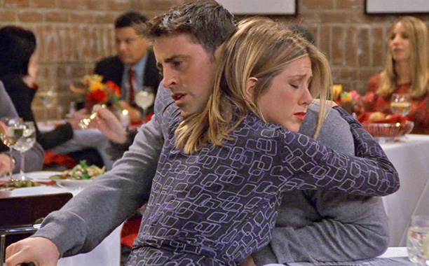 Friends | ''The One Where Joey Tells Rachel'' Perhaps it's best to pretend that the Joey-loves-Rachel story line never happened, and this episode is the most criminal.