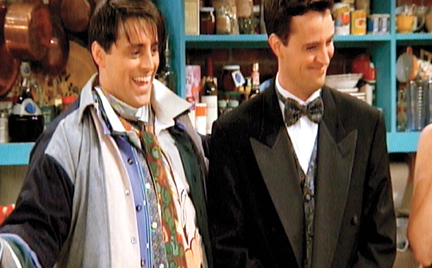 Friends | ''The One Where No One's Ready'' Six friends, one room. Everyone delays getting dressed for an event at Ross' museum and the resultant stubbornness delivers…
