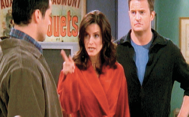 Friends | ''The One With Rachel's Phone Number'' Joey suspects Monica is having an affair and embarks on a comedy of errors to prove it. Meanwhile, Mike…