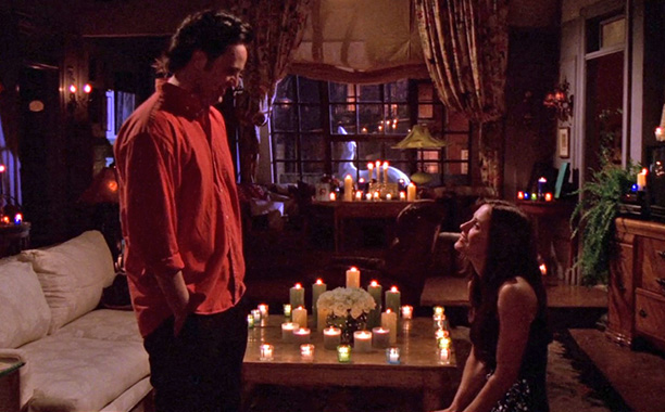 Friends | ''The One With the Vows'' Another clip show! Monica and Chandler attempt to write their vows, but the gang's flashbacks to the early days of…