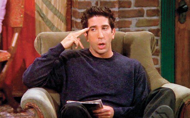 Friends | ''The One With Unagi'' Three plot lines—Chandler and Monica's homemade gifts, Ross' ka-ra-tay, and Joey's search for a twin—make for the season's most consistent episode.