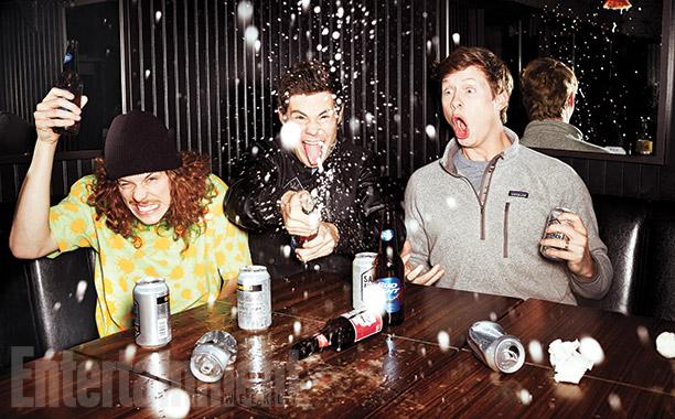 Blake Anderson, Adam DeVine, and Anders Holm