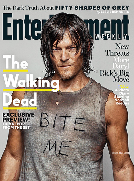 For more inside dish on 'Walking Dead,' buy this week's issue of Entertainment Weekly on newsstands Feb. 6, 2015