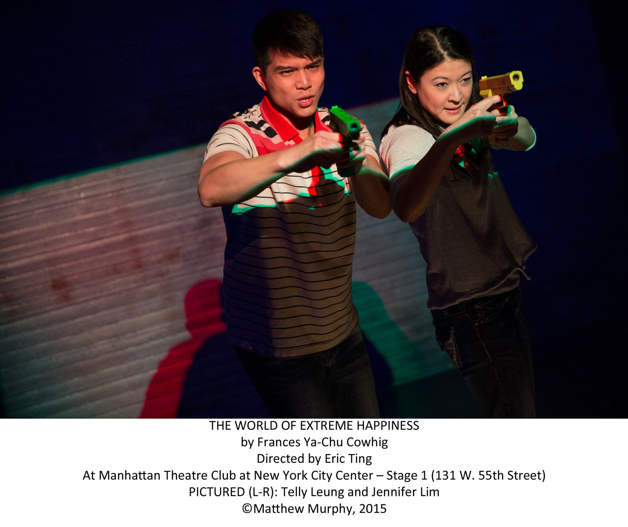 """""""The World of Extreme Happiness"""" Telly Leung and Jennifer Lim"""
