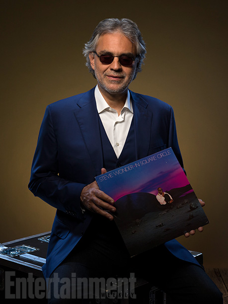 Andrea Bocelli with 'In Square Circle'