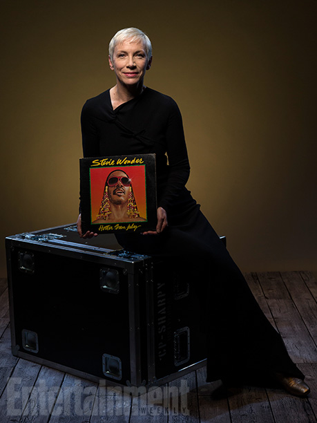 Annie Lennox with 'Hotter Than July'