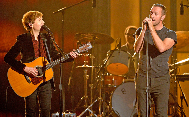 "Beck and Chris Martin, ""Heart is a Drum"""