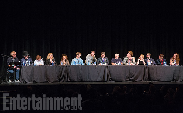 Savage Steve Holland, Curtis Armstrong, Kim Darby, Amanda Wyss, Diane Franklin, Jon Heder, Kevin Pollak, Paul F. Tompkins, Eddie Pepitone, Steve Agee, Janet Varney, Cole Stratton, Paul Brittain, and Annie Savage in action