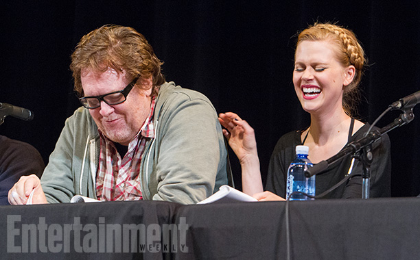 Steve Agee and Janet Varney