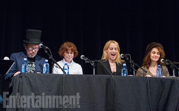 Curtis Armstrong, Kim Darby, Amanda Wyss, and Diane Franklin