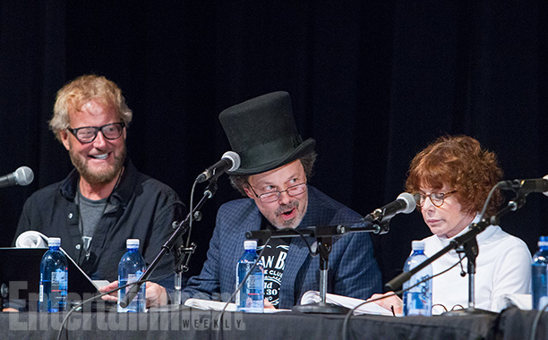 Savage Steve Holland, Curtis Armstrong, and Kim Darby