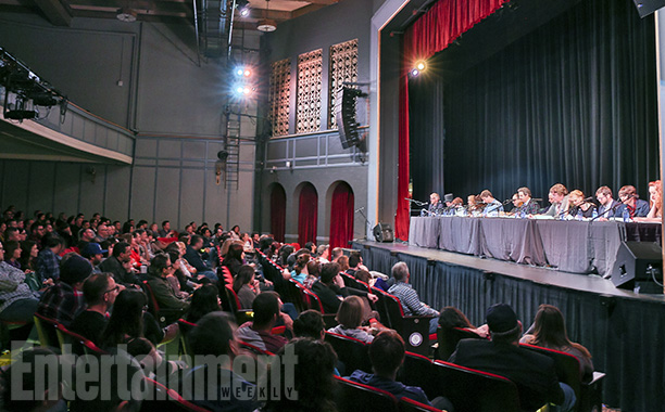 The SF Sketchfest audience gets in the picture
