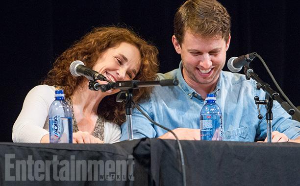 Diane Franklin and Jon Heder