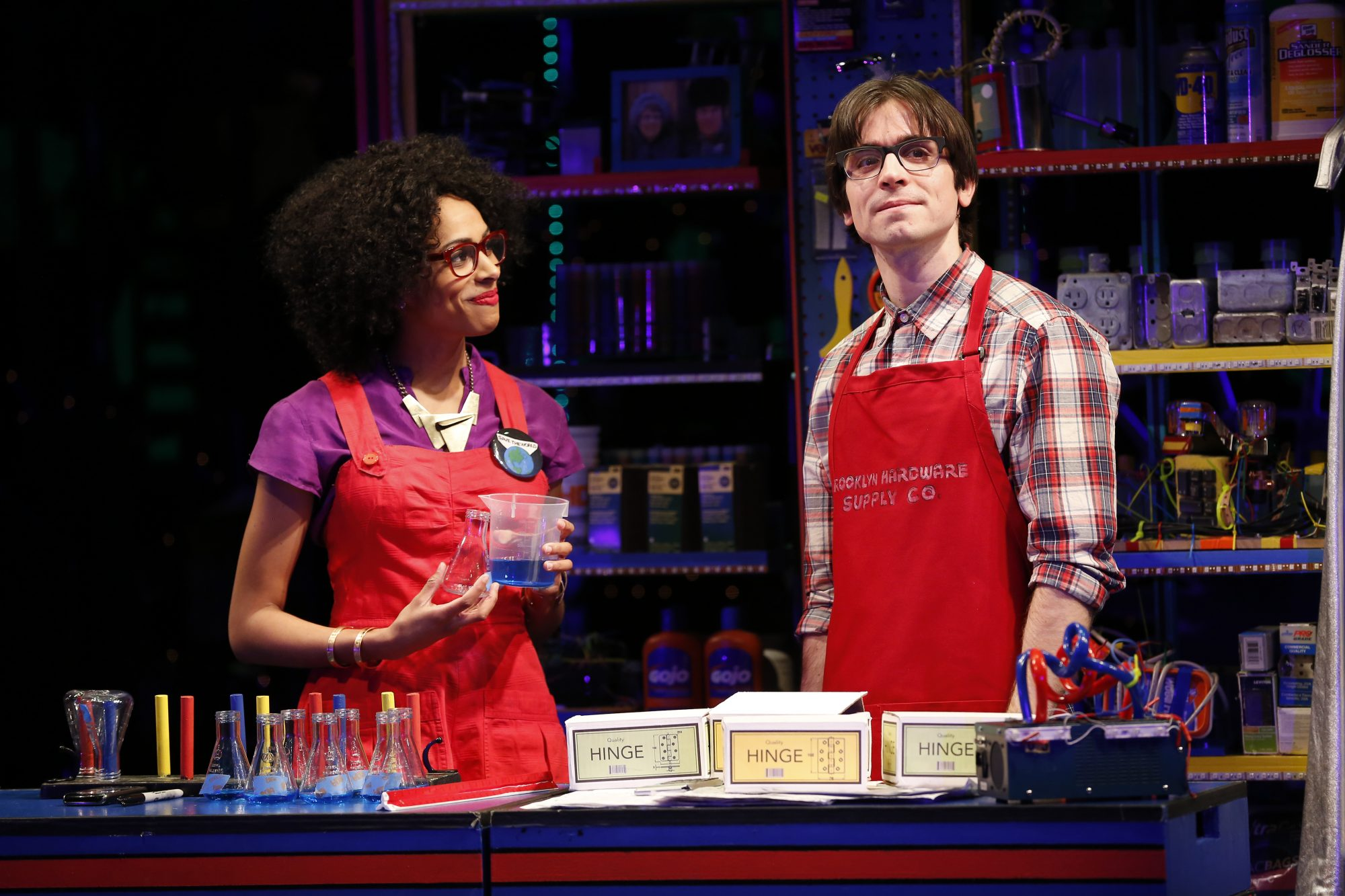 """""""Brooklynite"""" Nicolette Robinson and Matt Doyle"""