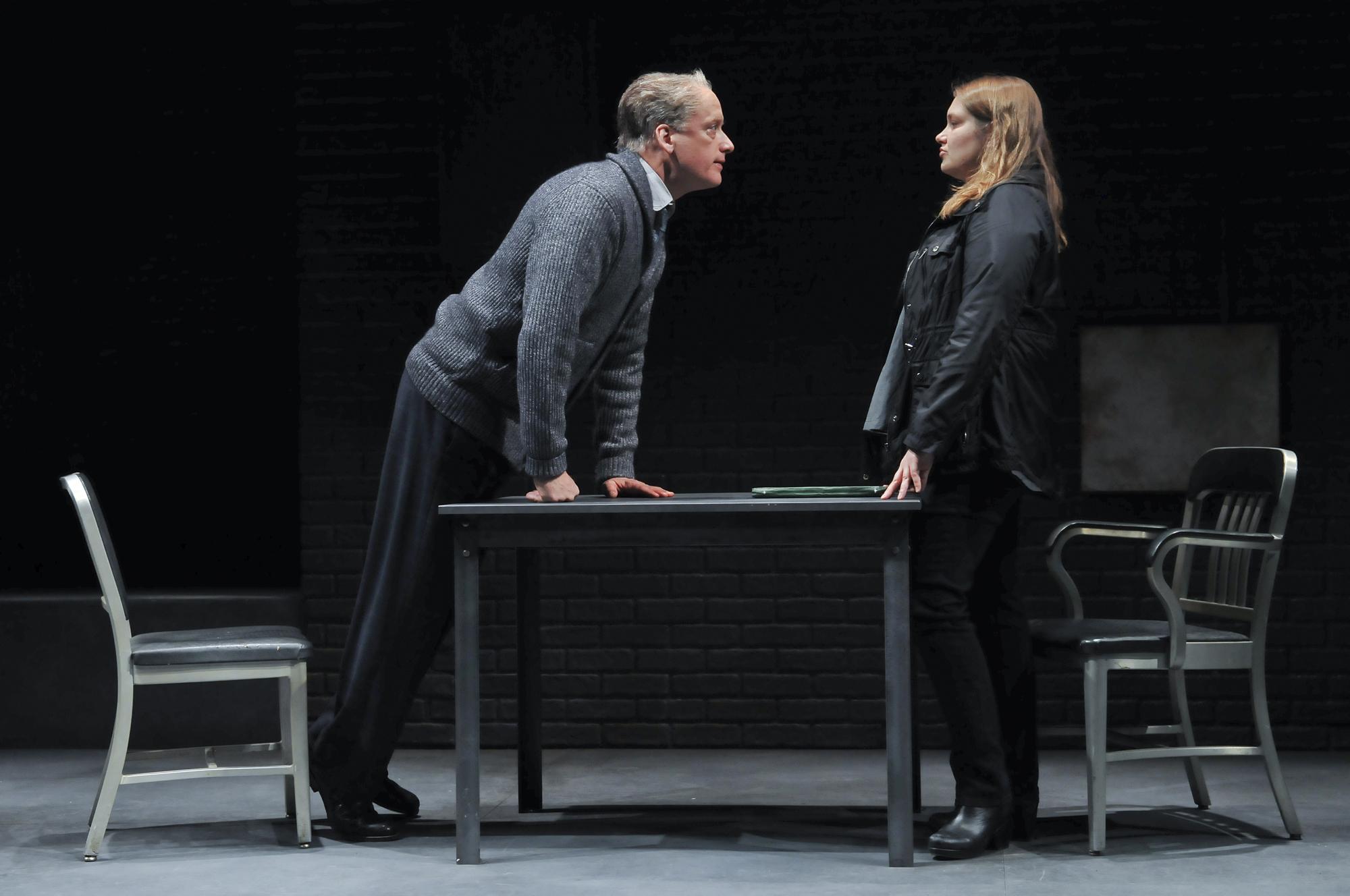 """The Nether"" Frank Wood and Merritt Wever"