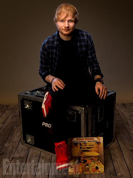 Ed Sheeran with 'Fulfullingness' First Finale'
