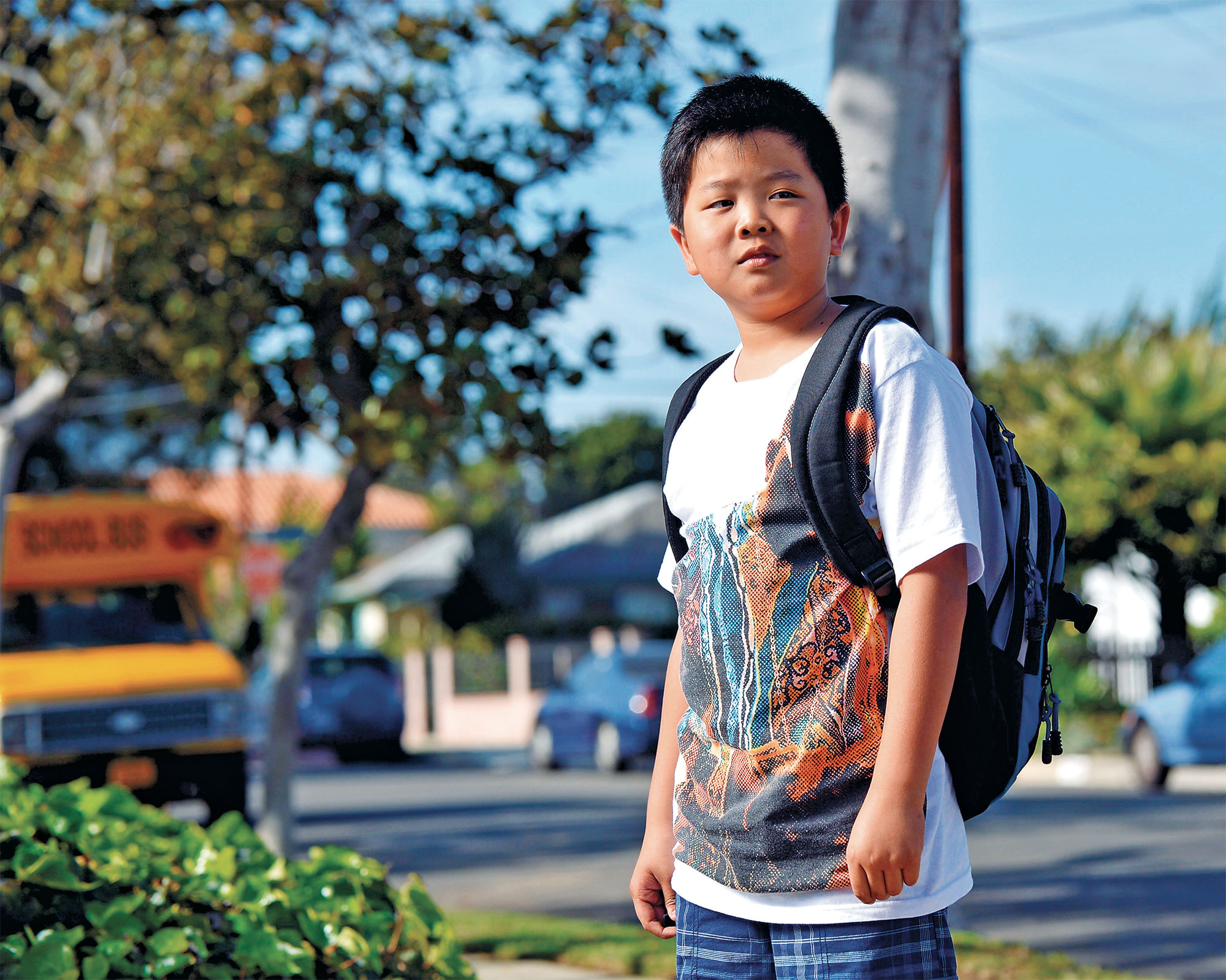 Hudson Yang in Fresh Off the Boat