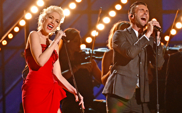 "Adam Levine and Gwen Stefani, ""My Heart Is Open"""