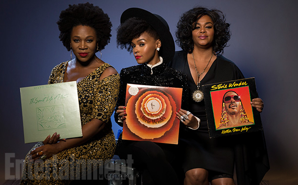 India.Arie, Janelle Monae, and Jill Scott with 'The Secret Life of Plants,' 'Songs In The Key Of Life,' 'Hotter Than July'