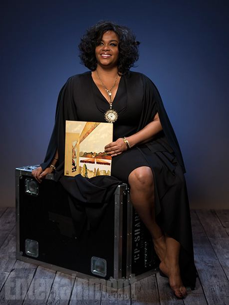 Jill Scott with 'Innervisions'