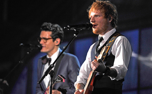 "Ed Sheeran, ""Thinking Out Loud"""