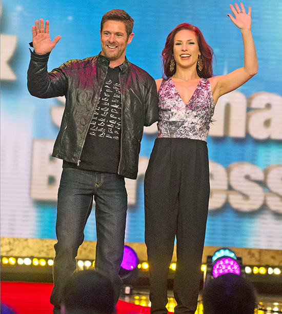 Noah Galloway, partnered with Sharna Burgess