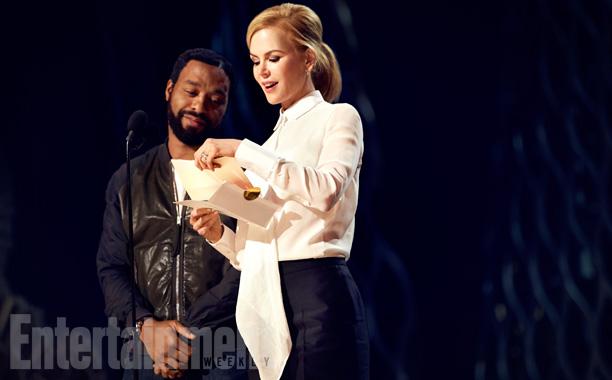 Chiwetel Ejiofor and Nicole Kidman