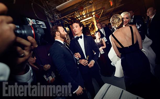 Chris Pine, Miles Teller, Sienna Miller, and Rita Ora