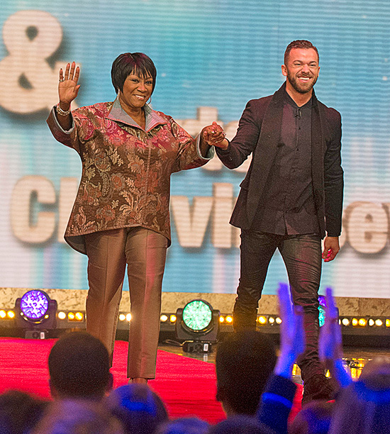 Patti LaBelle, partnered with Artem Chigvintsev