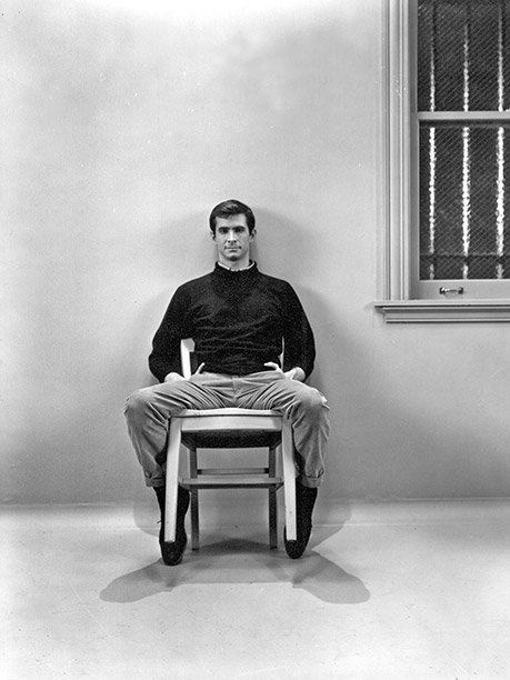 FROM 'PSYCHO': Anthony Perkins as Norman Bates, 1960
