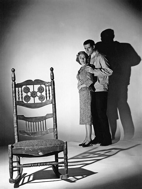 FROM 'PSYCHO': Vera Miles as Lila Crane, John Gavin as Sam Loomis, 1960