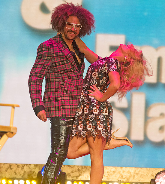 RedFoo, partnered with Emma Slater