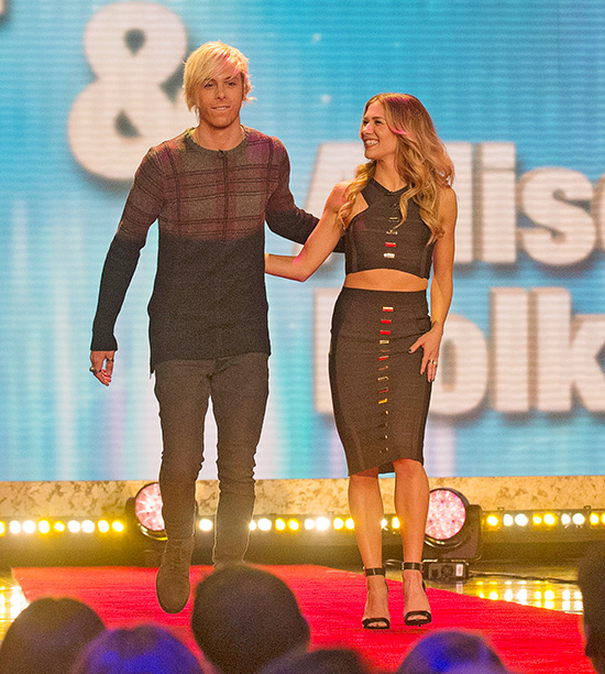 Riker Lynch, partnered with Allison Holker