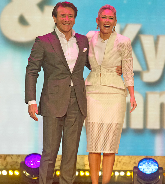 Robert Herjavec, partnered with Kym Johnson