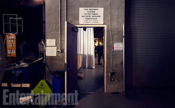 Entrance to the Dolby from the loading dock