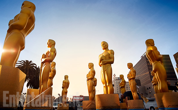 Oscar Statues find their place in the sun