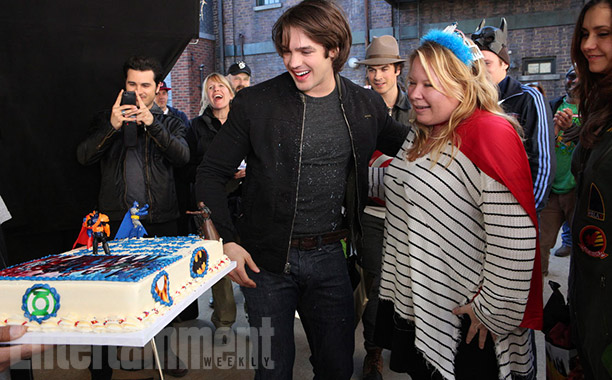 Steven R. McQueen and executive producer Julie Plec