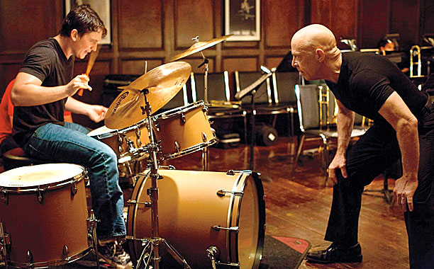 There are no two words in the English language more harmful than good job . Such is the philosophy of J.K. Simmons' monstrous music instructor…