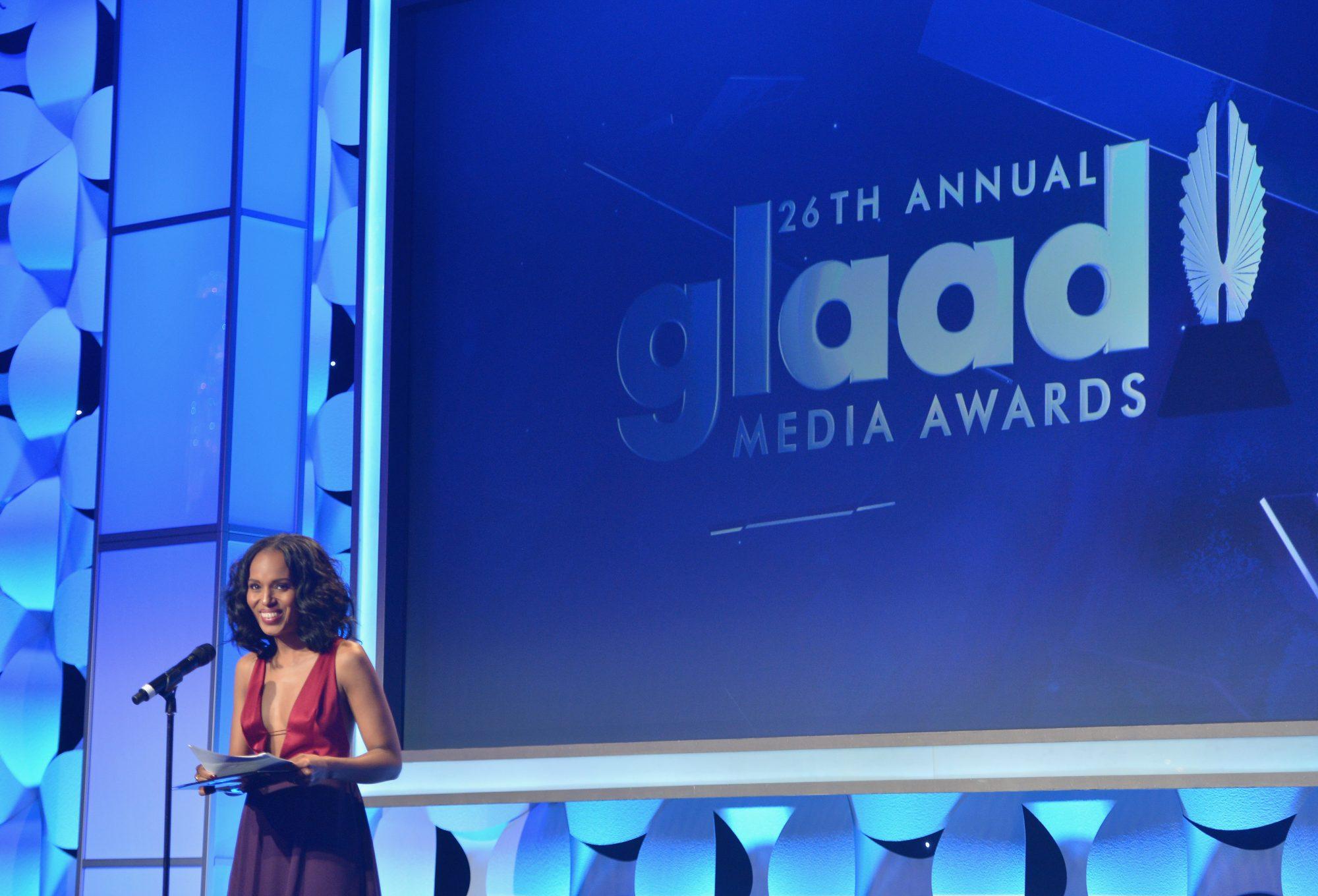 Kerry Washington - GLAAD Media Awards