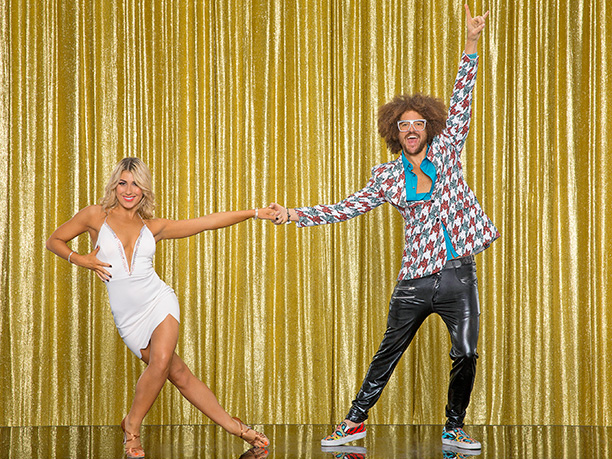 RedFoo and Emma Slater
