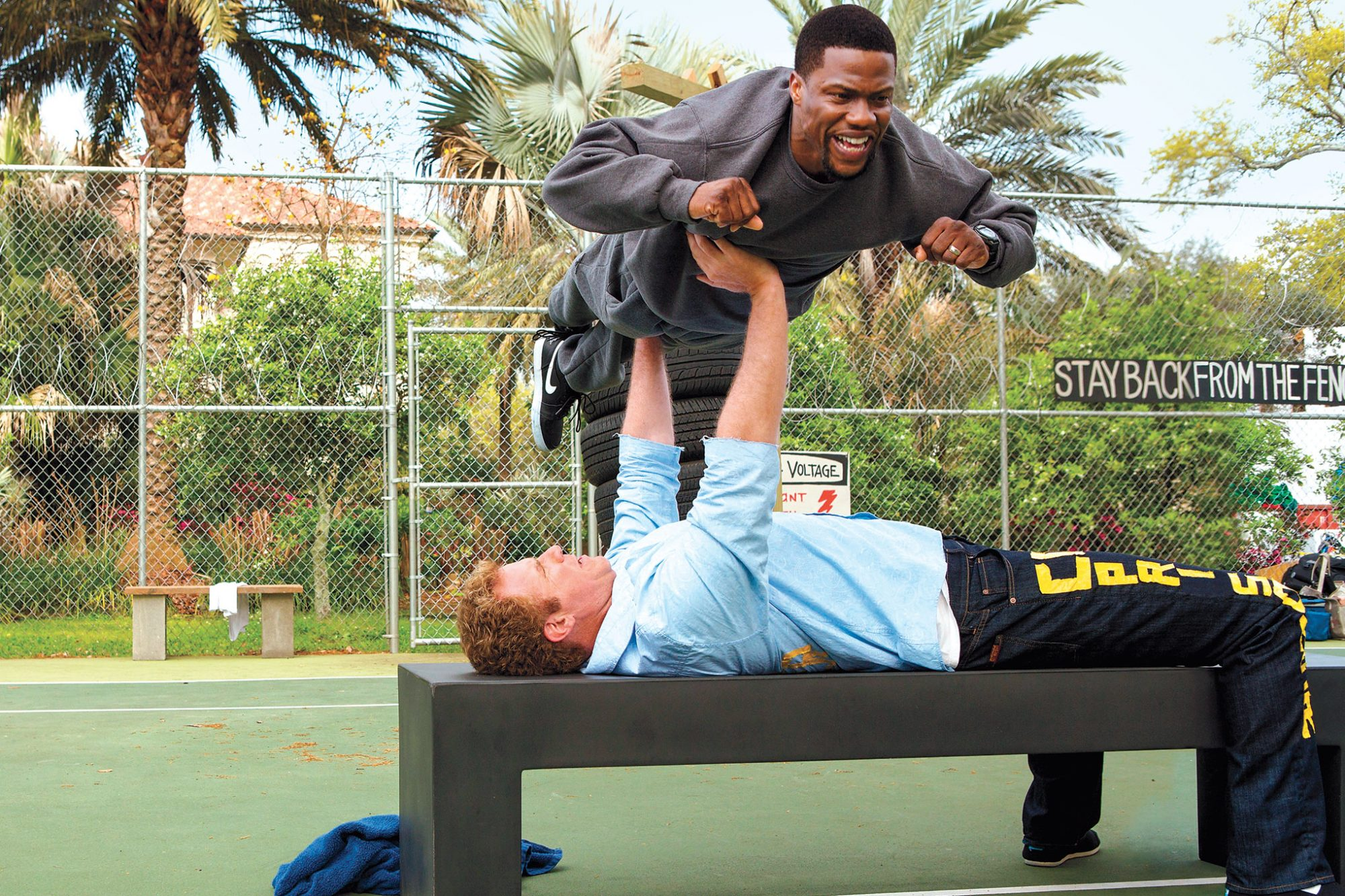 Will Ferrell and Kevin Hart in 'Get Hard'
