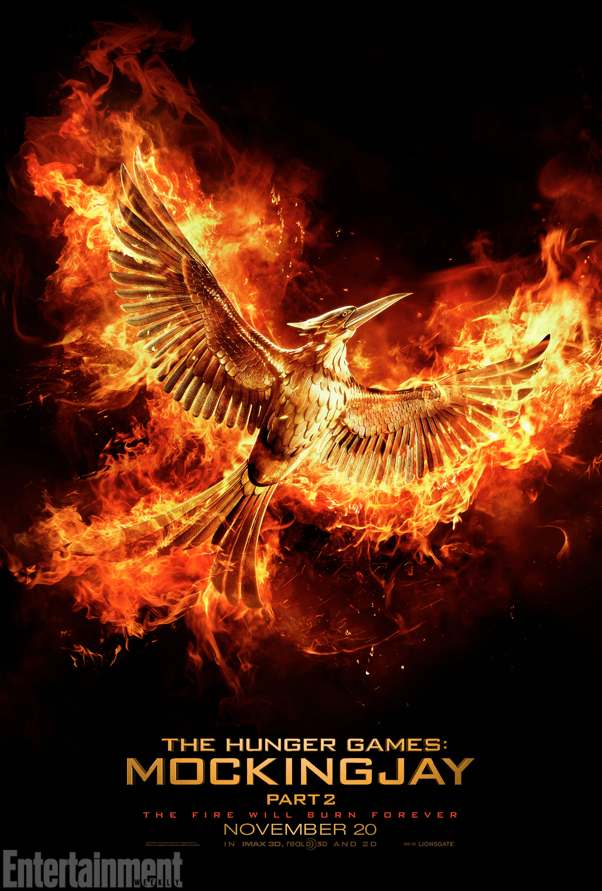 The Hunger Games Mockingjay Part 2 Teaser Poster See It Here