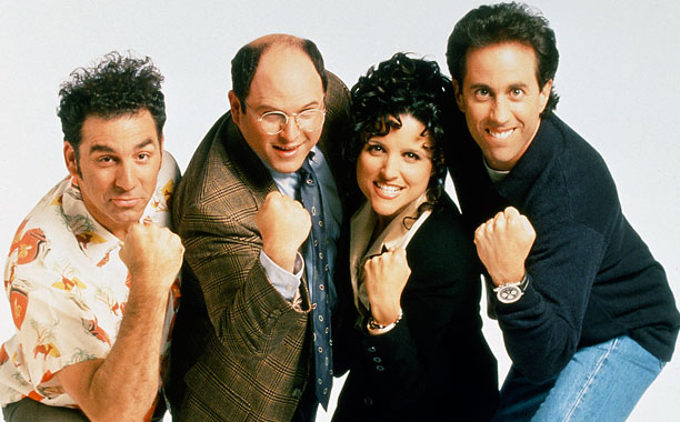 ''I always hated Seinfeld — I never found it to be funny, and everyone is just grating personalities.'' — Chris V. ''I am with you…