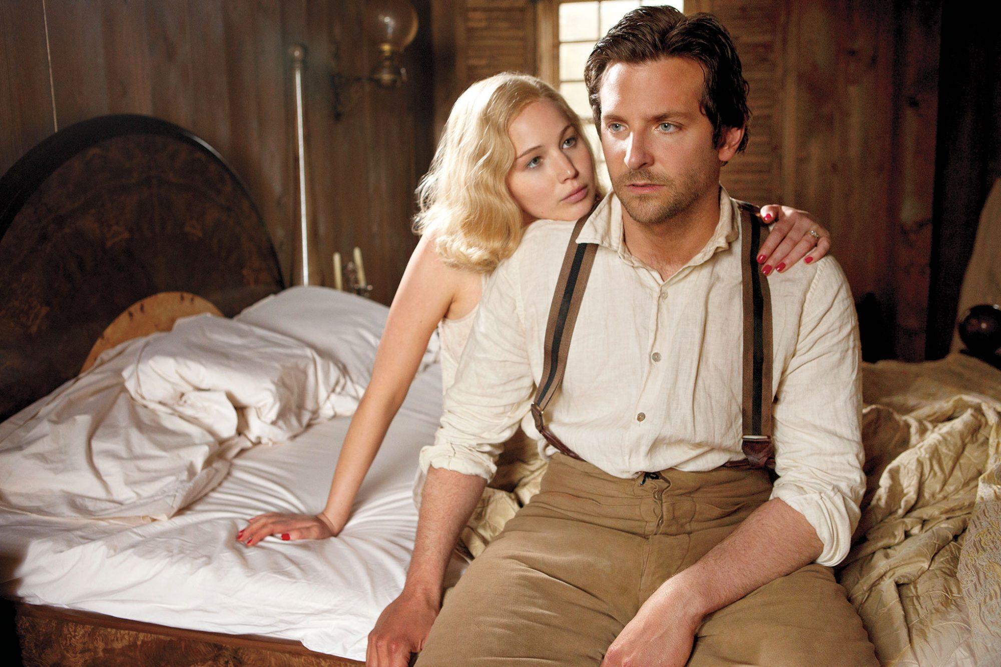 Jennifer Lawrence and Bradley Cooper in Serena