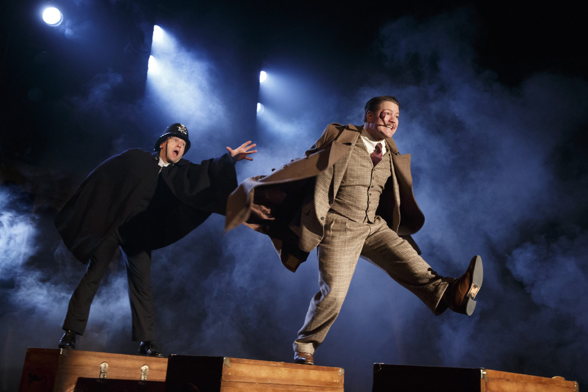 """39 Steps"" Billy Carter and Robert Petkoff"