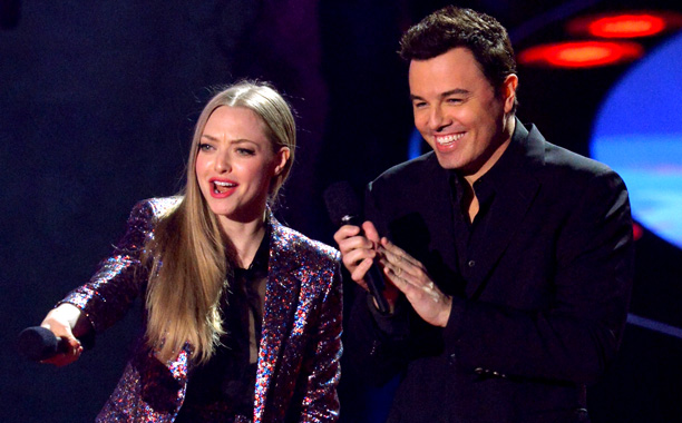 MTV Movie Awards 2014 | ''You know, they say comedy is the hardest thing an entertainer can do,'' started Best Comedic Performance presenter Seth MacFarlane. And then his co-presenter Amanda…