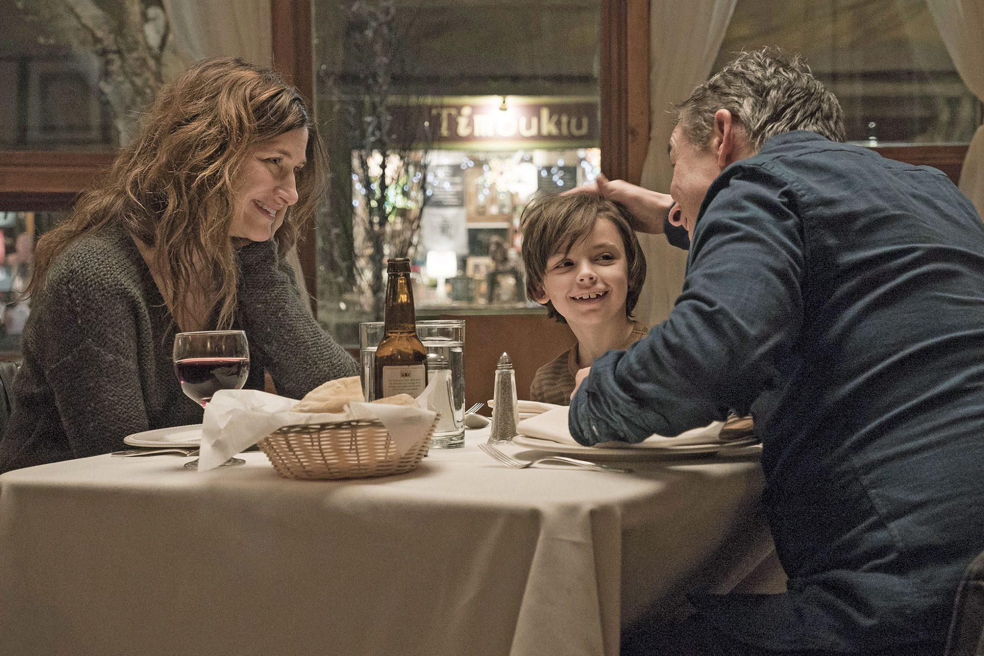 Kathryn Hahn, Sawyer Shipman, and Steve Coogan in Happyish