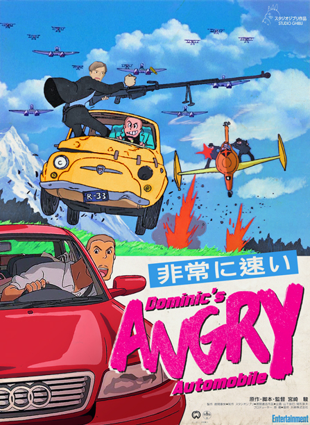 As if directed by Hayao Miyazaki
